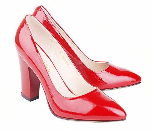 femme Red Wrinkle B Pump26001 Basses Wrinkle Verocara B Verocara femme Pump26001 Basses 4W7gnF