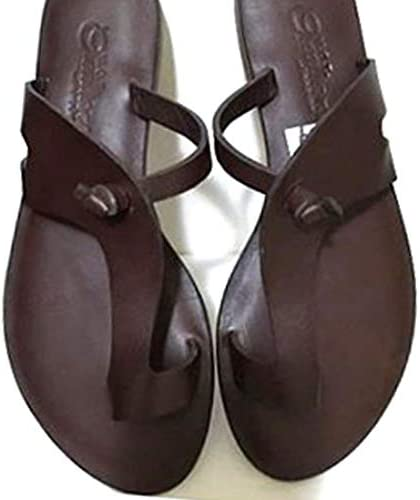 men's african leather sandals
