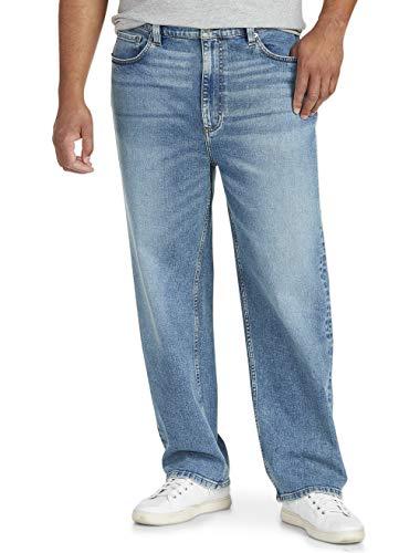 Amazon Essentials Men's Big & Tall Loose Stretch Jean Fit by DXL