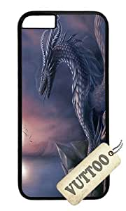 iPhone 6 Case,VUTTOO iPhone 6 Cover With Photo: Dragon Fantasy For Apple iPhone 6 4.7Inch - PC Black Hard Case by ruishername