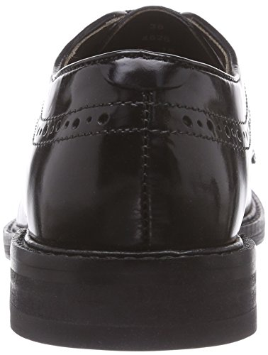 Scarpe Magee Nero Donna London Basse Stringate Hudson black Derby 5qwxE04aZa
