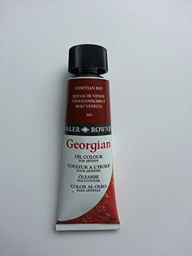Daler - Rowney Georgian 75ml Oil Colour Tube - Venetian Red