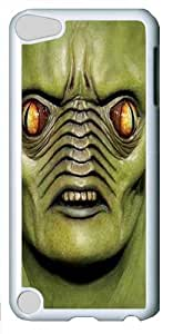 Big Face Andromeda Custom iPod Touch 5/Apple iPod 5 Case Cover Polycarbonate White