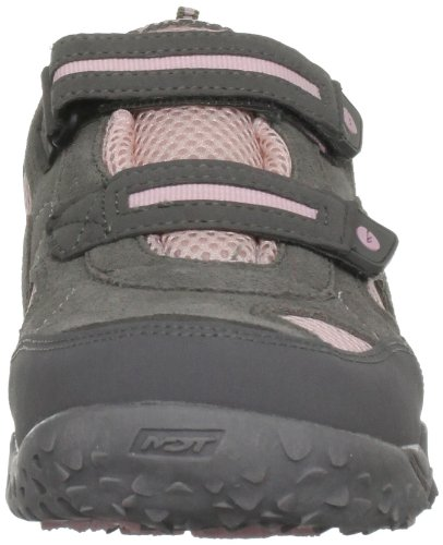 Hi-Tec Total Terrain EZ Zapato de Hiking Junior Gris - Hot Grey/Candy/Bubblicious