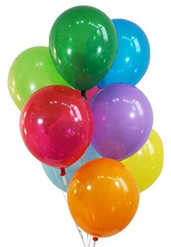 """Creative Balloons 12"""" Latex Balloons - Pack of 72 Pieces - Decorator Assorted Colors"""