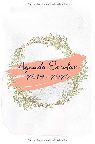 Agenda Escolar 2019-2020: Flores en Acuarela: Amazon.es ...