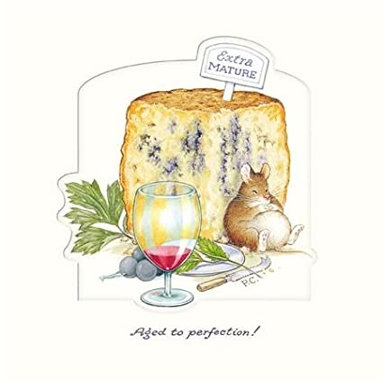 from The Peter Cross Range. GBCC3980 Blank//Birthday Card Greetings Card - Aged to Perfection