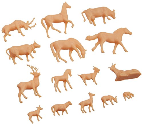 Model Power HO Animals, Unpainted (72) MDP5793