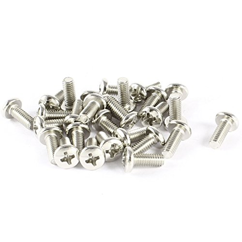 uxcell 30 pcs vesa tv lcd monitor mounting philips head screws m4 x 10mm. Black Bedroom Furniture Sets. Home Design Ideas