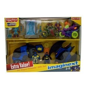 Fisher Price Batman Giftset by Imaginext