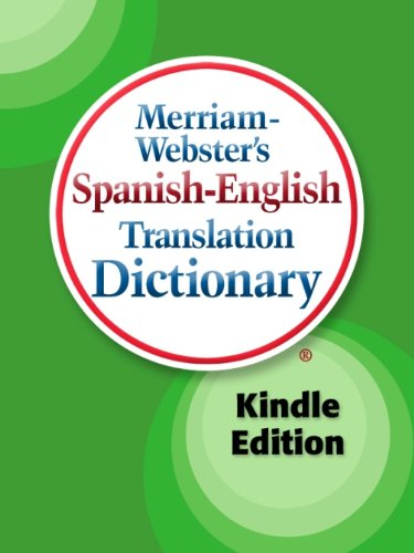 Merriam-Webster's Spanish-English Translation Dictionary, Kindle Edition  PDF