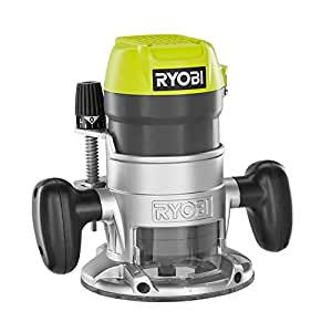 Ryobi R163GK 8.5-Amp 1.5 HP Fixed Base Corded Router Green