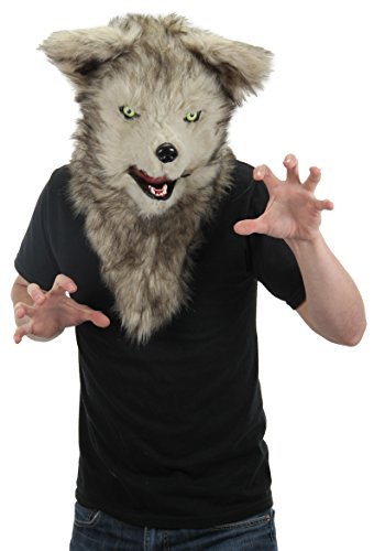 Elope Mouth Mover Wolf Mask (Wolf Masks For Adults)