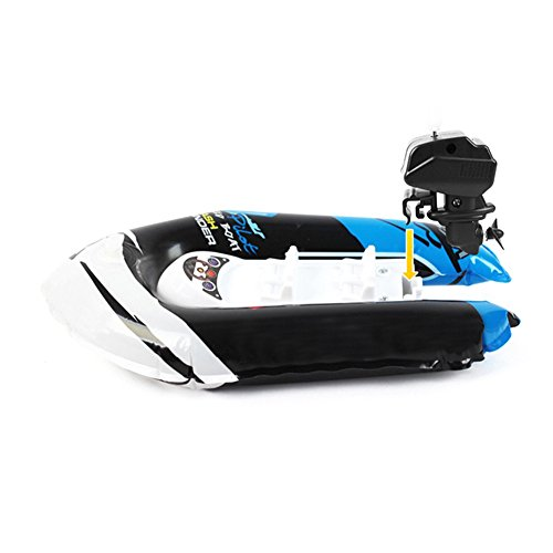 Ocamo Children Inflatable Bath Toys Wind-up Printing Dinghy Toy Mini Inflatable Boat with Pump Random Color -  mhy-Jiaying181017-KCtoy-465E492CF7