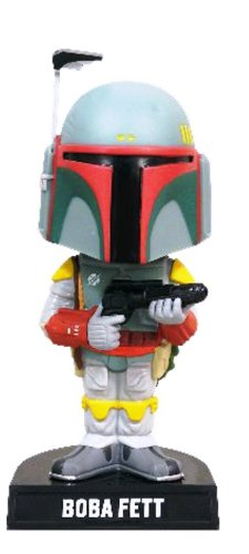 Funko Cinemaniak Estatuilla - Bobble Head Boba Fett Star Wars - PVC 19 Cm - Figura Head Boba Fett (18