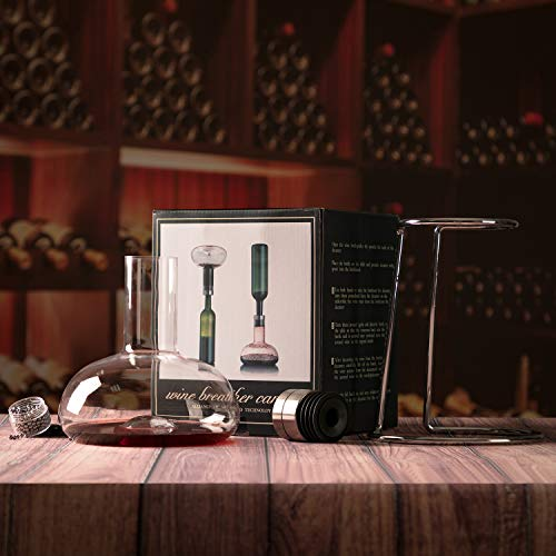 Decant your wine for a better experience