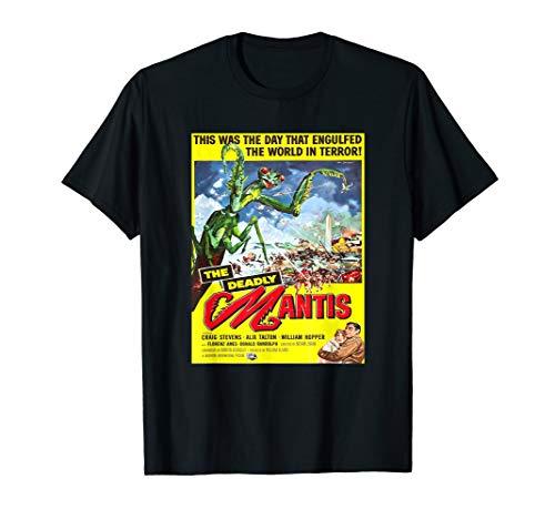 (Vintage Mantis science-fiction movie shirt)