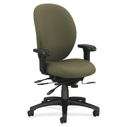 HON 7600 Executive High-Back Chair w/Seat Glide-Exec High-Back Chair,w/Seat Guide,41-1/2
