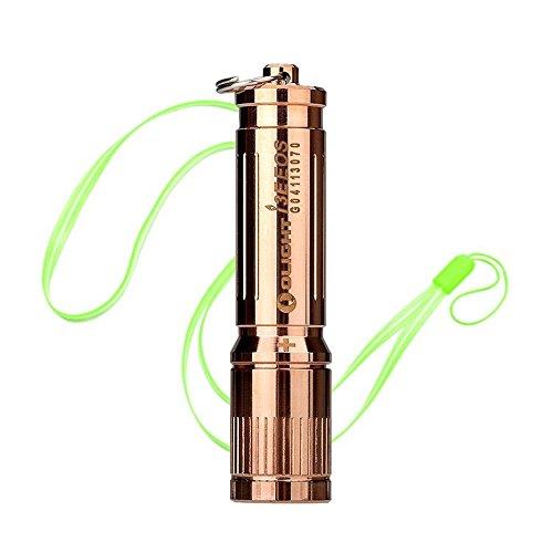 Bundle: Olight I3E EOS COPPER LUXEON TX LED 120 Lumens