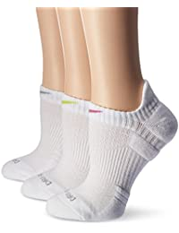 Womens 3-Pack Dri Fit Cushion No-Show Tab Ankle Socks Multi-Color SX4841-913 Size Small
