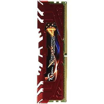 G.SKILL Ripjaws 4 Series 16GB (2 x 8GB) 288-Pin DDR4 SDRAM 2400 (PC4 19200) Memory Kit F4-2400C15D-16GRR
