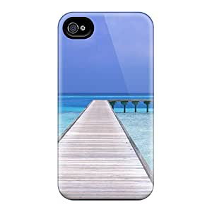 Perfect Tpu Beach Way Phone Case Cover Skin For Iphone 5/5s Protective Case