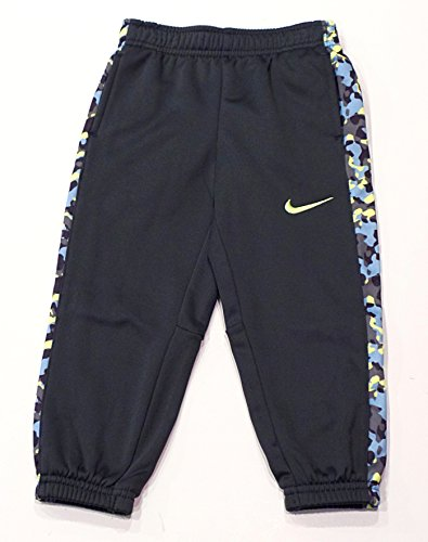 Boys 4-7 Nike Therma-FIT Fleece Pants, Anthracite Volt, 5