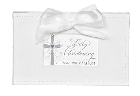 Baby Dedication The Grandparent Gift Co Growing in Faith Keepsake Photo Album