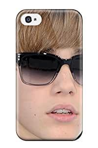 Hard Plastic Iphone 4/4s Case Back Cover,hot Justin Bieber Glasses Best45 Case At Perfect Diy