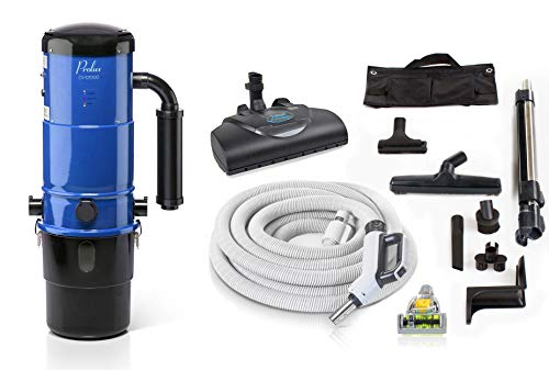 - Prolux CV12000 Central Vacuum Unit System with Prolux Power Nozzle Kit and 25 Year Warranty