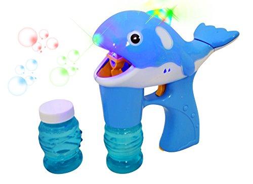 Dolphin Light Whale Bubble Blower