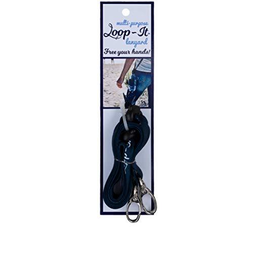 Loop-It Lanyard - The Ultimate Hands Free Lanyard - Adjustable Water Bottle Lanyard - Beer Lanyard - and More for Men, Women, and Children with Adjustable Sliding Locks