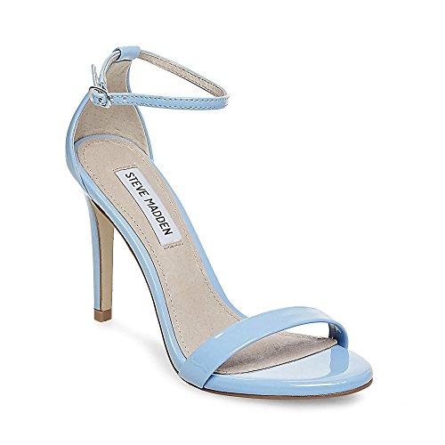 Steve Madden Donne Vestito Stecy Sandalo Blu Di Brevetto