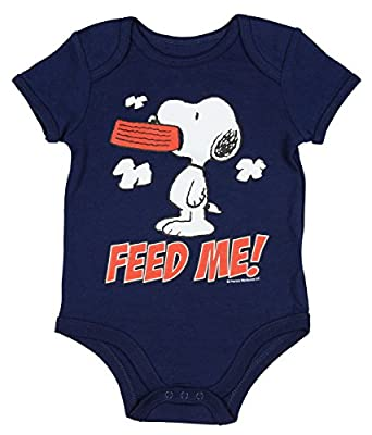 Peanuts Snoopy Assorted Baby Boys Bodysuit Dress Up Outfit