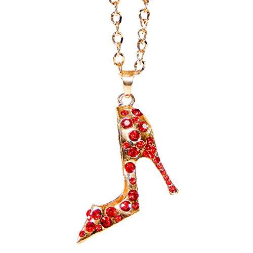 Mirror Hanger Ornament Red Rhinestones product image