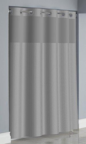 Hookless RBH34MY051 Herringbone Curtain -  Drizzle