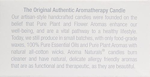 Aroma Naturals Ambiance Votive Candle, Yellow/Orange/Lemongrass, 6 Count by Aroma Naturals (Image #6)