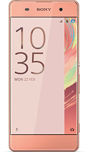 Sony Xperia XA Smartphone (5 Zoll (12,7 cm) Touch-Display, 16GB interner Speicher, Android 6.0) Rose Gold