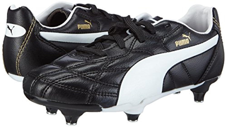 Puma Unisex Kids' Classico Football boots (training) Black Size: 1 UK