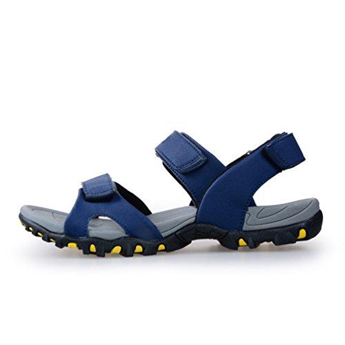 Uomo Traspirante Sandali Casual Blu Trekking Scarpe Estive Spiaggia da Arrampicata Sportivi da da Yiiquanan Outdoor Antiscivolo IBqf1wn