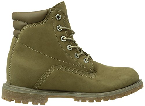 Marrone Stivali Basic 6 in Waterproof Timberland Taupe Waterville Donna U0wWqX