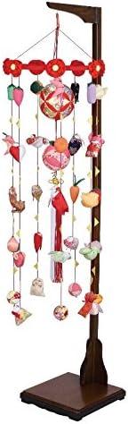 吊るし飾り まり飾り [小] 吊り台付 [ 高さ 約172~212cm ]