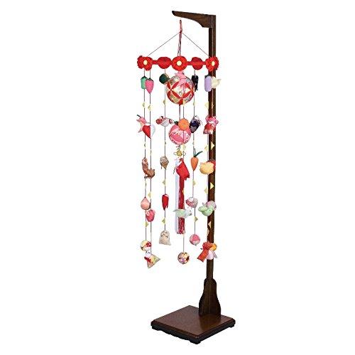吊るし飾り まり飾り [小] 吊り台付 [ 高さ 約172~212cm ]   B07NPCKRSQ