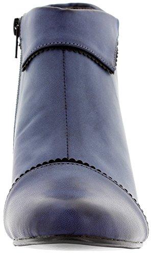 in sintetico Stivali da donna materiale blu Banned 01RBc