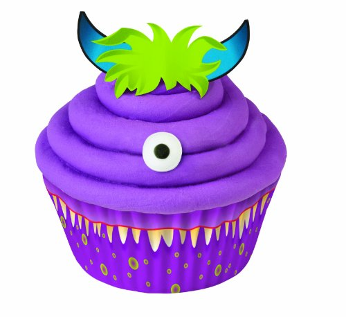 Wilton 415-8043 Monster Cupcake Decorating