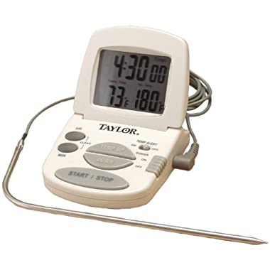 Taylor Precision Products Digital Cooking Thermometer/Timer