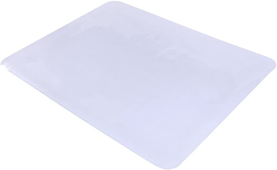 KEPOOMAN 사무실 의자 매트 47X35INCH 바닥 보호 매트는 가정용 가구 사무실 책상 의자 컴퓨터의 자 매트 광택이 없는 바닥 표면 보호기 투명
