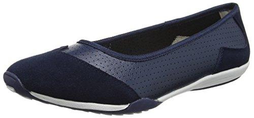 Spot On F80261, Bailarinas para Mujer azul (marino)