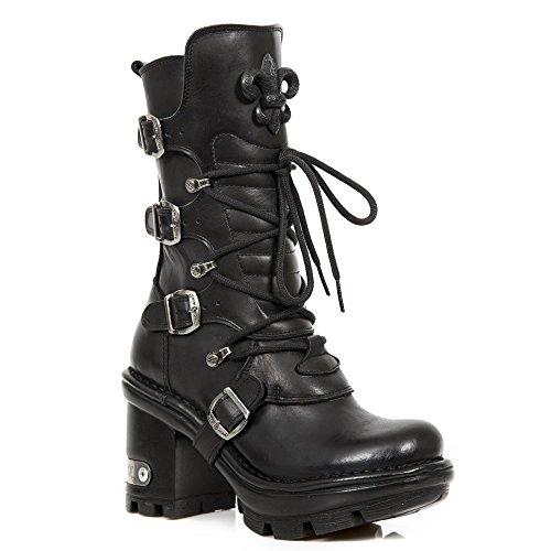 Nieuwe Rock Damen Ben Neotyre05 S1 Stiefel & Stiefeletten Zwart, Zwart