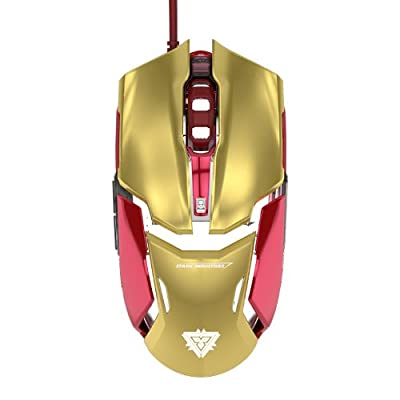 E-Blue Iron Man Wired Gaming Mouse - 4000DPI (Marvel North America Official Licensed)